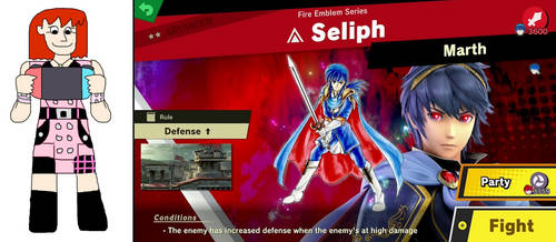 Kairi Plays Against Seliph by jacobyel