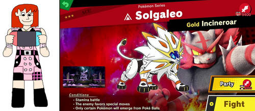 Kairi Plays Against Solgaleo by jacobyel