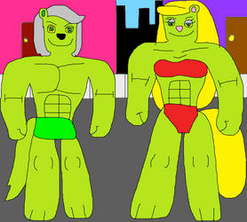 Marty and Minerva Hulks Life by jacobyel