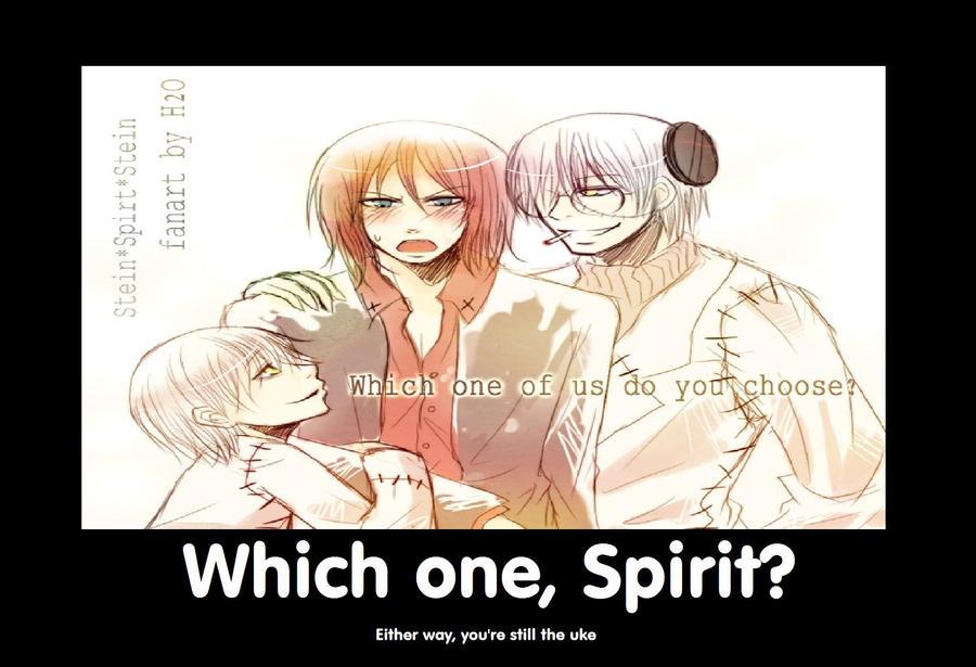 Soul Eater Yaoi Stein X Spirit Stein X Spirit favourites by