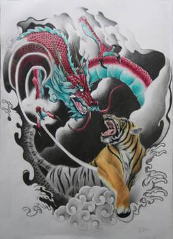 oriental dragon tiger