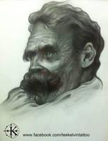 Friedrich Nietzsche by LeeKelvin