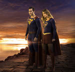 Superman and Supergirl, Sunset