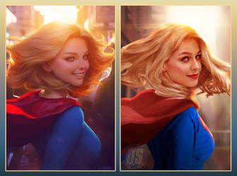 Supergirl Wallpaper On Supergirldafc Deviantart