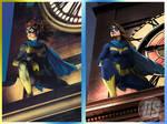 Batgirl #34, Side By Side
