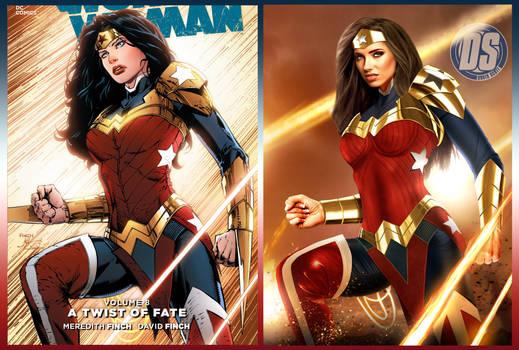 Wonder Woman, Side by Side