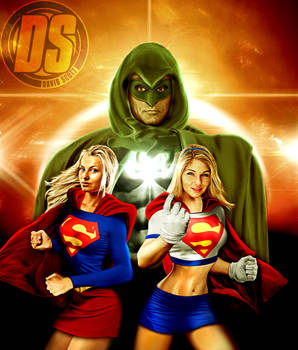 Supergirls and The Spectre