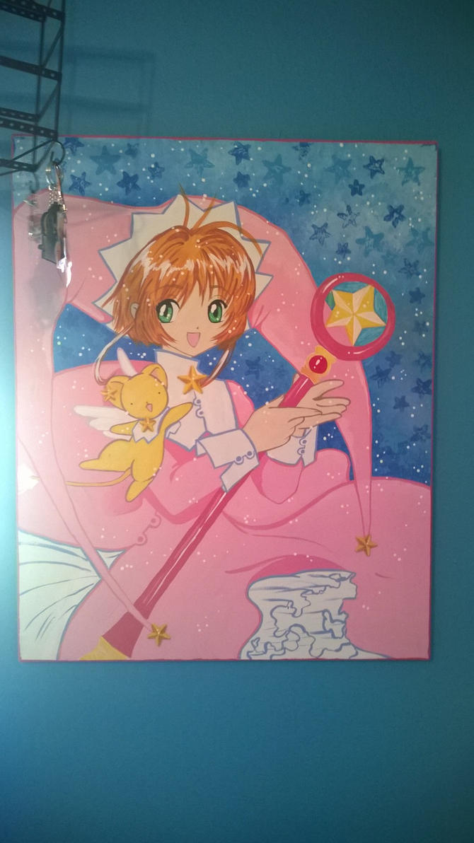 cardcaptor painting by darken-si