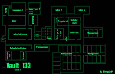 Vault 133 - Main Level by Shogoth64