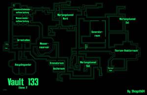 Vault 133 - Second Level