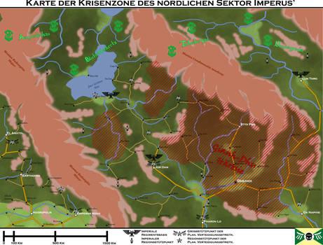 Partial Sector Map - Sektor Imperus Northwest