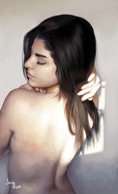 Topless by jamespuga