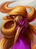 Rapunzel Hair by jamespuga