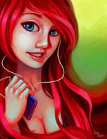 Red hair by jamespuga
