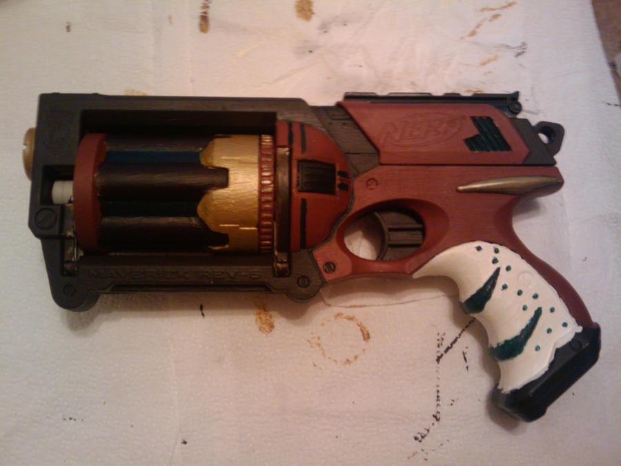 Nerf Gun Mavrick paint mod by fireflynexes