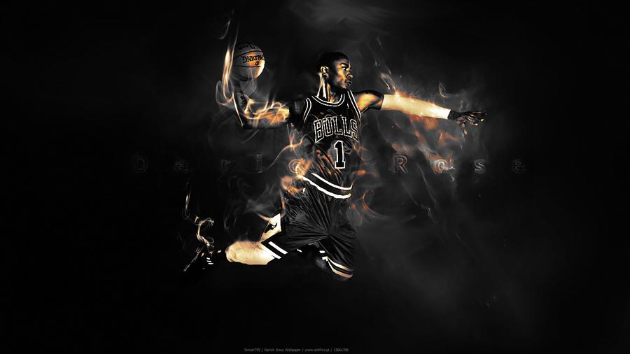 Derrick Rose Wallpaper By SimonT95