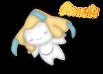 Pokemon Jirachi Fan Art by HoshigumoChan