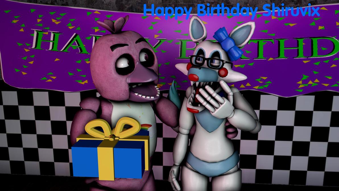 Gift - Shiruvix Birthday pic by ChicaChickson