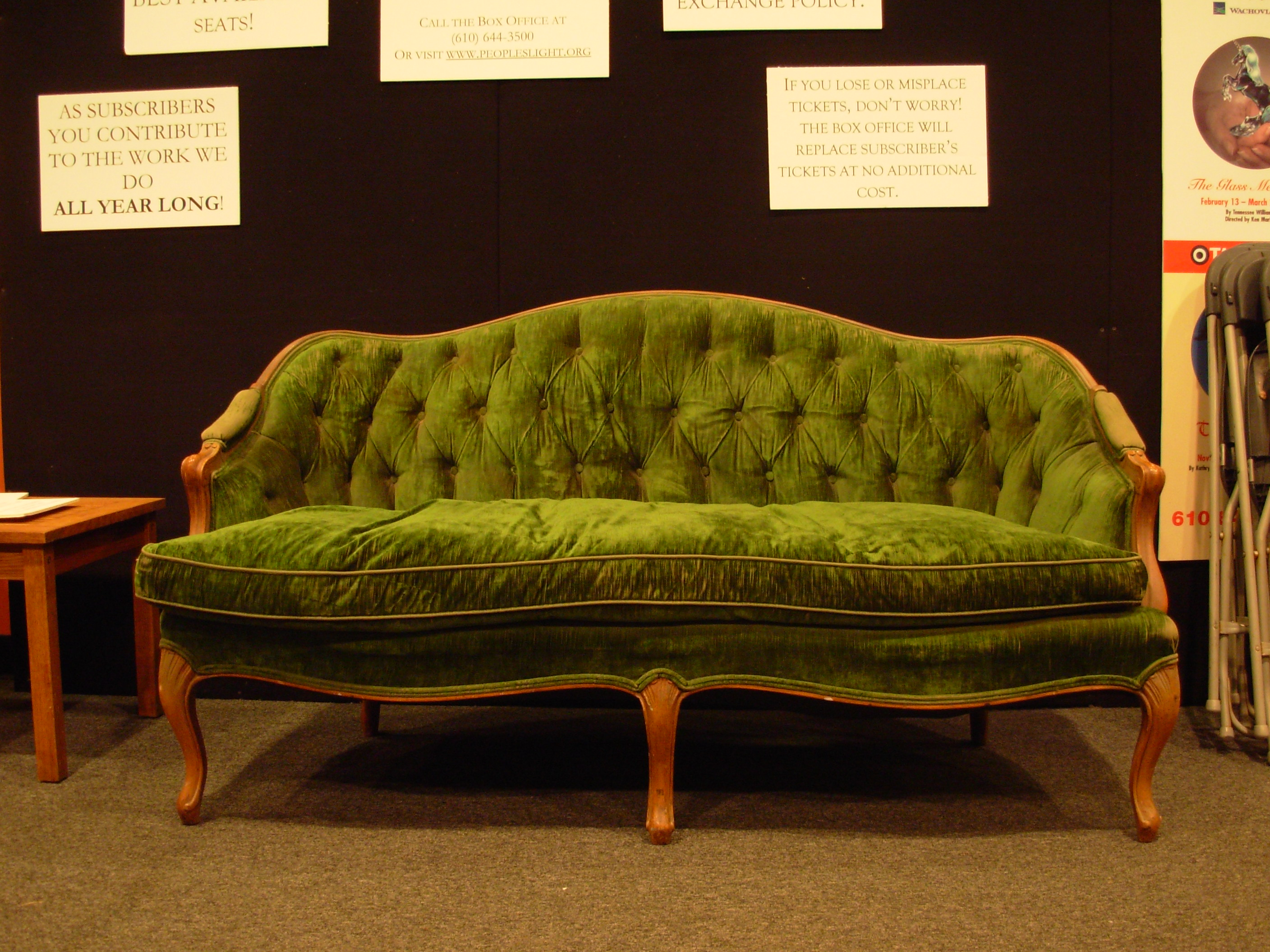 Green Sofa by bean-stock