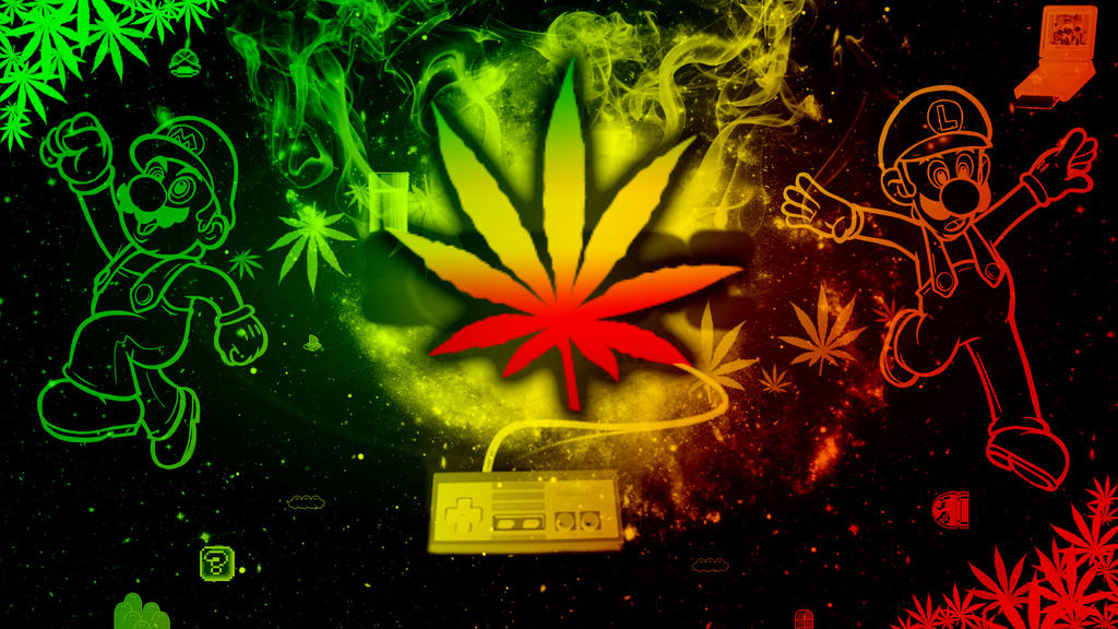 Rasta/Weed Wallpaper by SkyeJacqueline ...