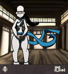 Mei the Ninja by drinkdecaf