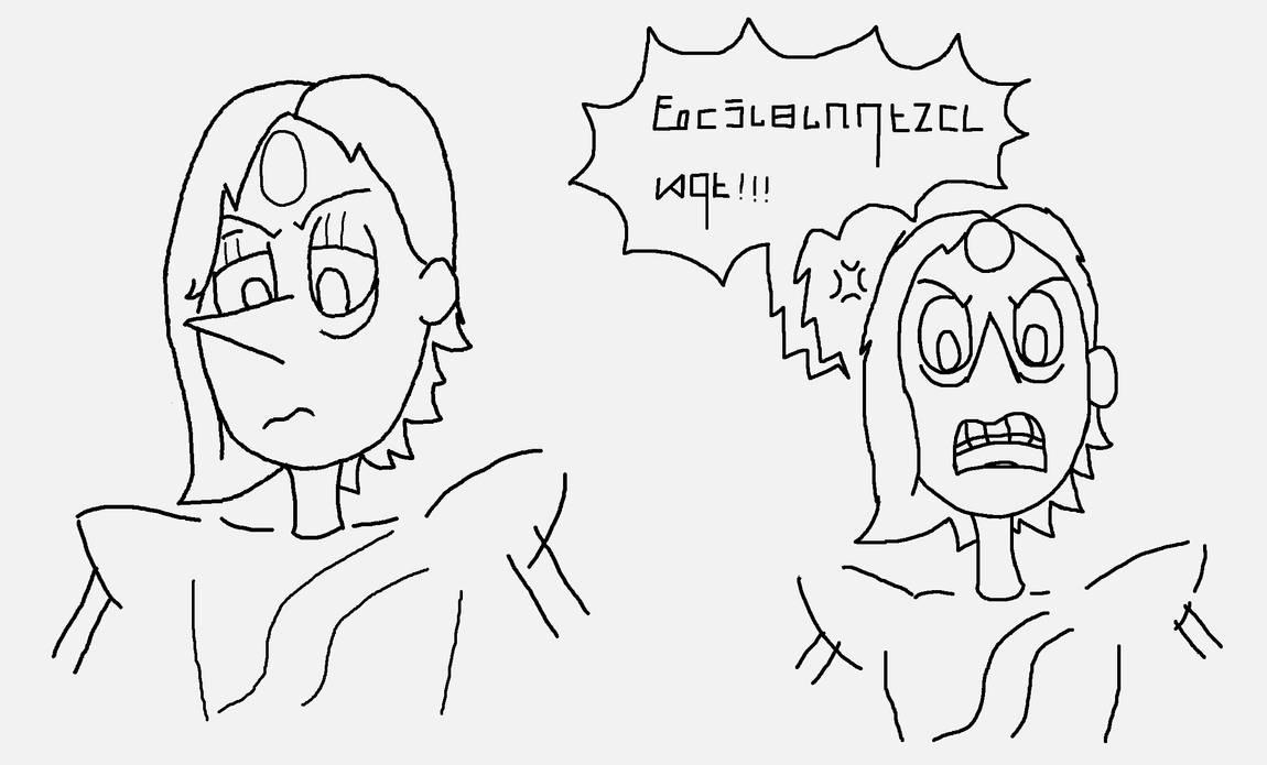 Morvaridite Facial Sketches