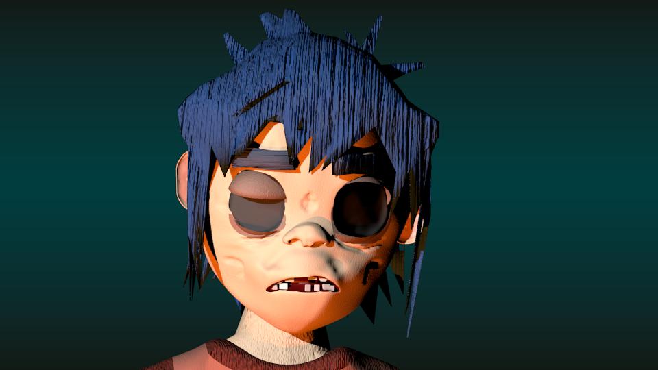 2d Character Modeling Blender : Infernoartsblender marcelo gutierrez deviantart