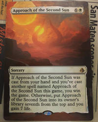 Approach of the Second Sun border extension