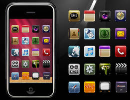 some icons on iphone