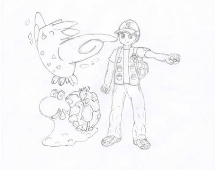 My Pokemon Character - First Draft