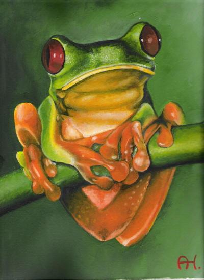 Froggy by retsnom