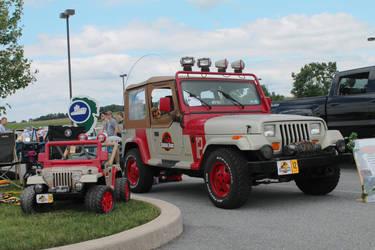 Jurassic Jeep by SwiftysGarage
