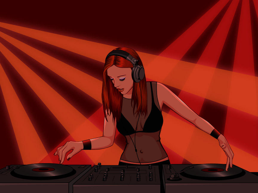 DJ by VeralenaTW