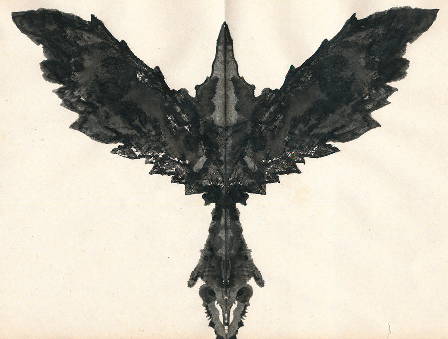 Rorschach Crow by Live-Sun ...