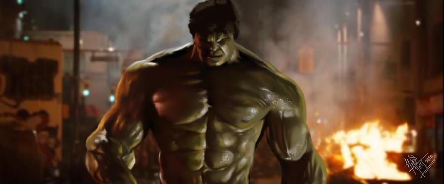 incredible hulk art gallery - photo #23