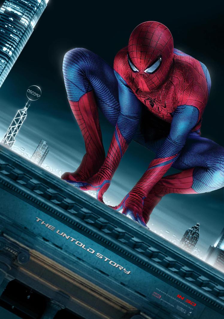 THE AMAZING SPIDER MAN POSTER by hiteshsharma88