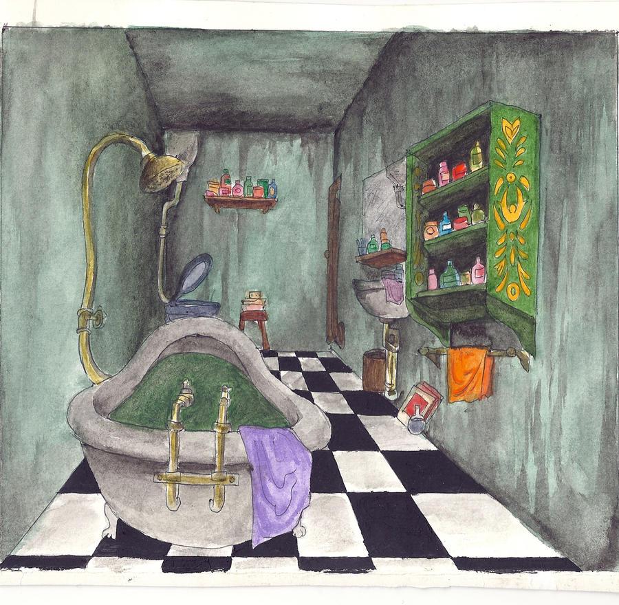 Dirty Bathroom Pics: Dirty Strange Bathroom By Bullaby On DeviantART