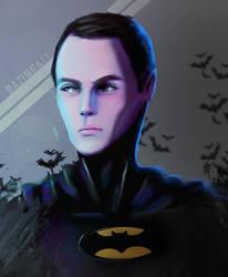 Next Painting - Bazinga punk! Am Batman!!