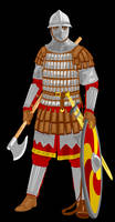 Varangian Guard by Fr0stm0urne
