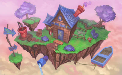 44 Floating Island by mehchall