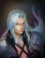 Sephiroth by mehchall