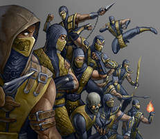 scorpions by mehchall