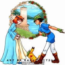 038. Prince Goldenrod and Princess Cerulean
