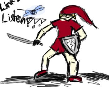 Worst Zelda fanart Ever xD by killerscrew