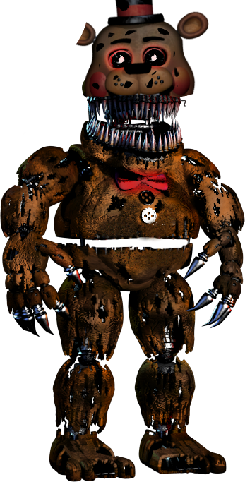 Old Toy Freddy : Nightmare old freddy pictures to pin on pinterest daddy