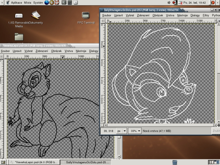 Drawing Lines Using Gimp : Drawing in gimp sally mutant by elfman ml on deviantart