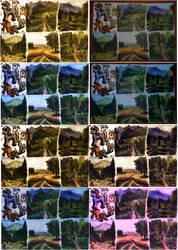 Landscapes tests by elfman83ml