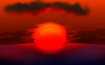Sunset test by elfman83ml