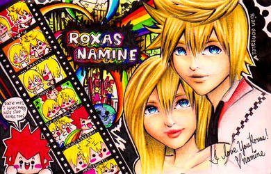 Roxas and Namine: Reminiscence by rianbowart