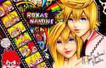 Roxas and Namine: Reminiscence
